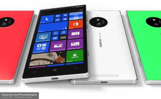 Microsoft së shpejti prezanton modelin Nokia Lumia 830