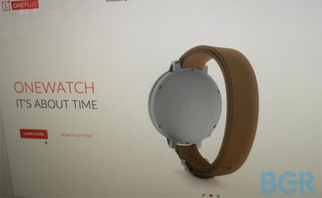 """Rrjedhin imazhe që tregojnë orën e mençur """"OneWatch"""""""