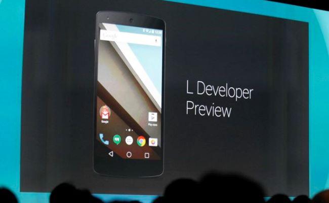 Android 5.0 L ndoshta nga 1 Nëntori