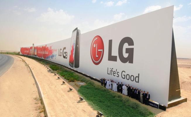 LG G3 reklama