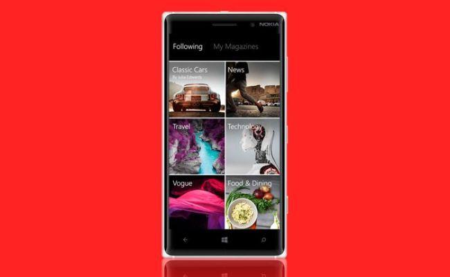 Aplikacioni Flipboard edhe në Windows Phone