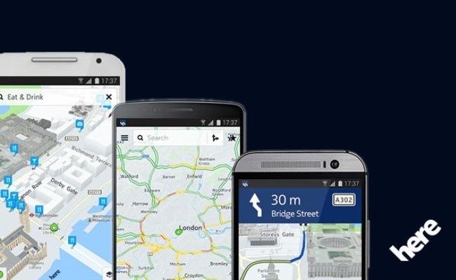 Biznesi e hartave nga Nokia, Nokia HERE, në shitje