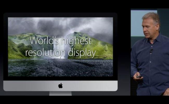 Zyrtare: Apple prezanton iMac me Retina ekranin