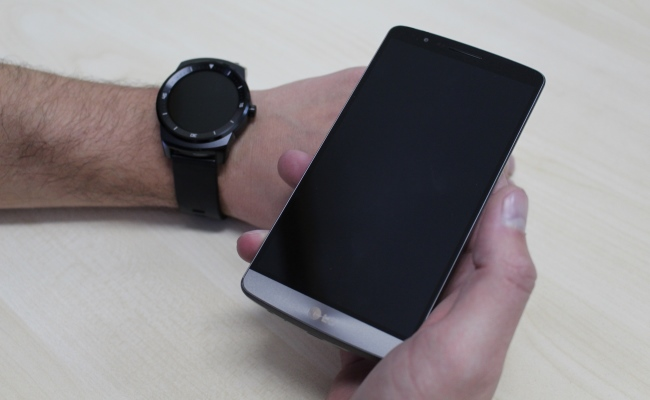 Video shpaketim: LG G Watch R