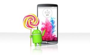 LG G3 Lollipop 5.0