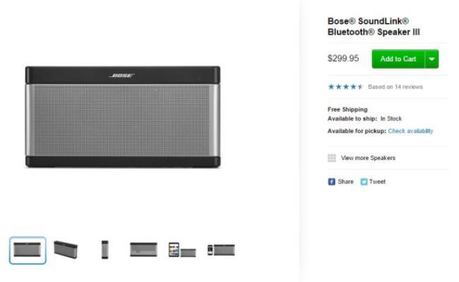Pajisjet Bose në shitje prapë nga Apple Online Store