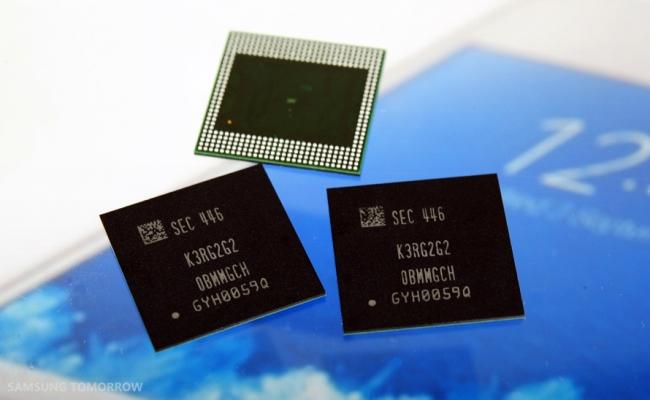 Samsung 8 Gigabit LPDDR4 DRAM