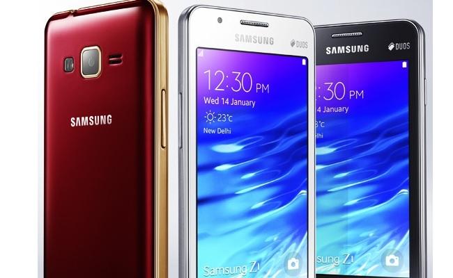 Samsung lanson smartphone-in Samsung Z1