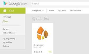 GJirafa App