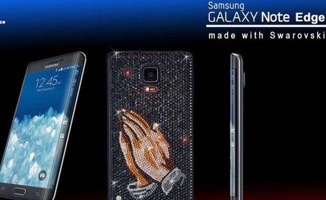 Lansohet Galaxy Note Edge me kristale Swarovski