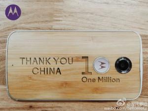 Moto X (2014) 1 milion