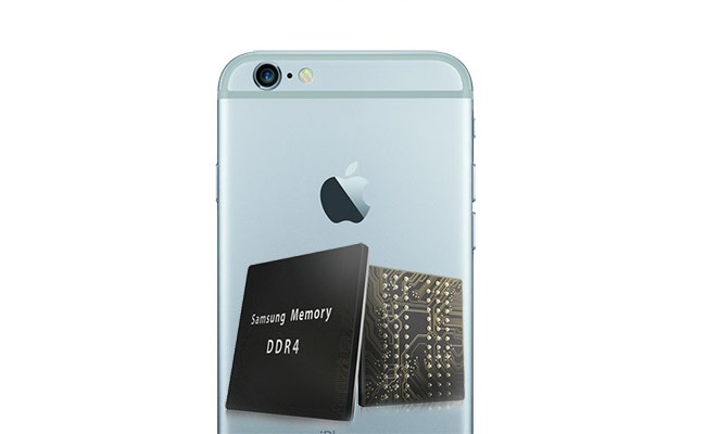 Samsung do të jetë furnizues i memorieve DRAM për iPhone 6S