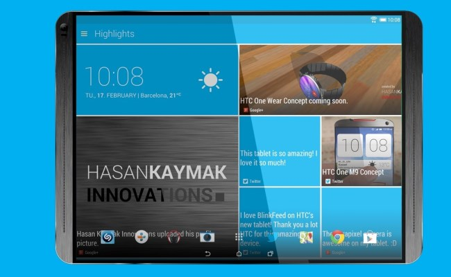 Shfaqen detajet të tabletit HTC T1H