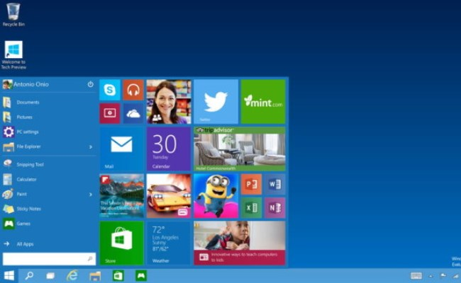Windows 10, merr më pak hapësirë në kompjuter