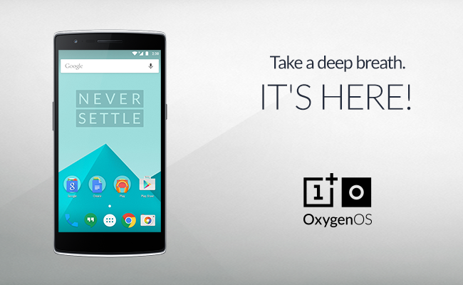 OnePlus publikon OxygenOS