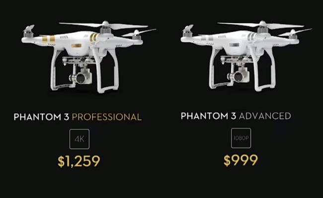 """DJI lanson modelin e ri të dronit """"Phantom 3"""""""