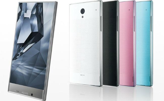 Sharp lanson ekranin 5.5 inç 4K