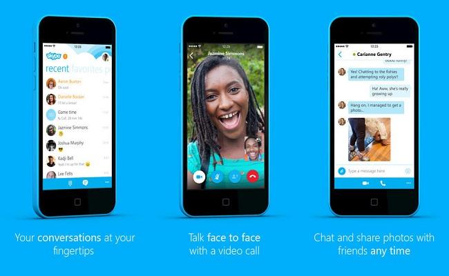 Microsoft lanson versionin 5.13 të Skype për iPhone