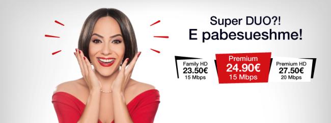 IPKO lanson pakot Super Duo me çmime të zbritura të internetit dhe TV digjital