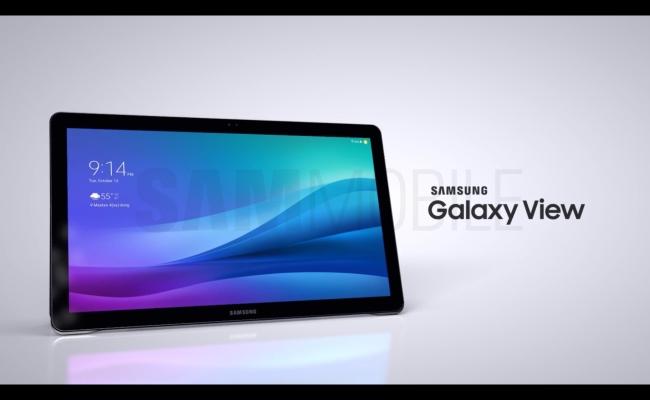 Zbulohen imazhe të qarta të tabletit Galaxy View