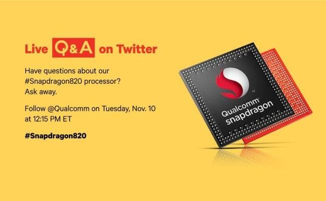Qualcomm Snapdragon 820 debuton sot