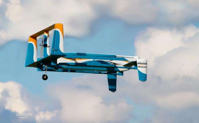 Amazon prezanton dronin e ri për dërgimin e porosive (video)