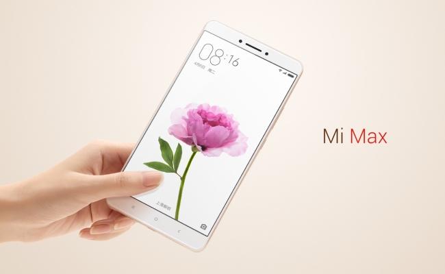 Lansohet Xiaomi Mi Max, posedon ekranin 6.44-inç
