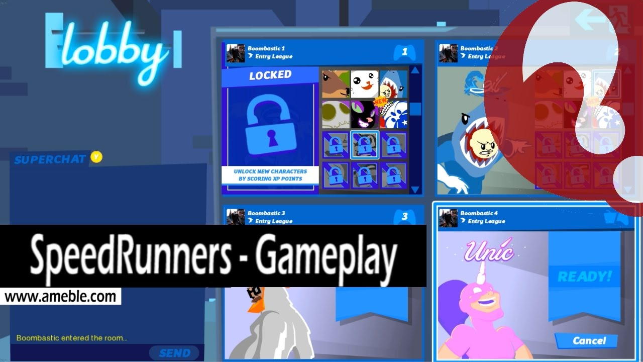 Njihuni me lojën SpeedRunners