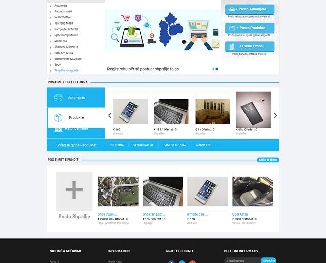 Webfaqja e parë shqip që ofron Ankand Online