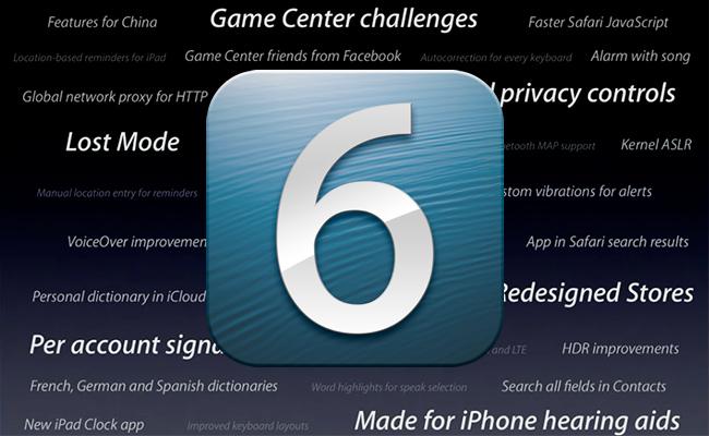 Pesë gjërat që priten në iOS 6 nga Apple