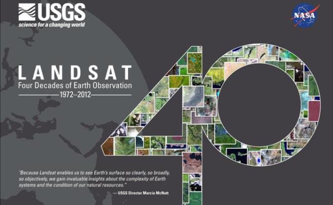 Landsat, 40 vjet pamje nga hapësira