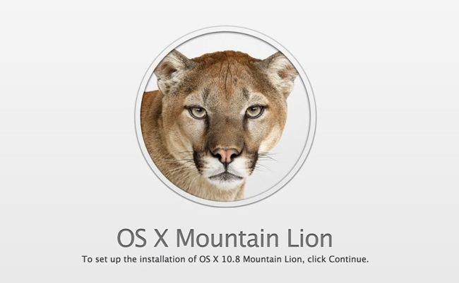 "Sistemi operativ ""OS X Mountain Lion"" nga Apple"