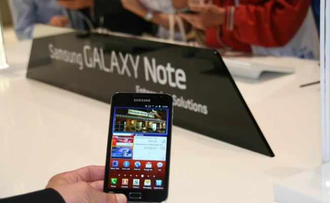Samsung Galaxy Note 2 – më 31 Gusht