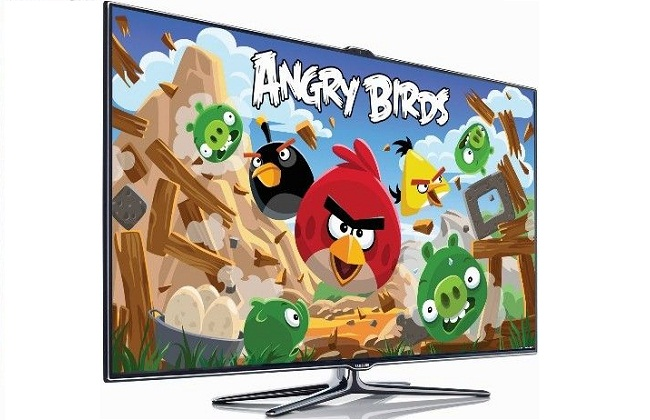 Angry Birds në Samsung smart TV