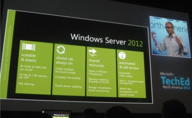 Windows Server 2012 RTM në Gusht, në publik gjatë Shtatorit