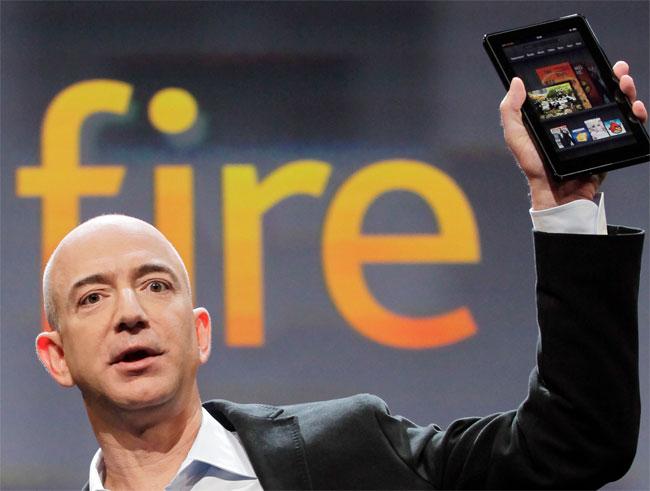 """Amazon vjen me tre lloje të reja të """"Kindle Fire"""""""