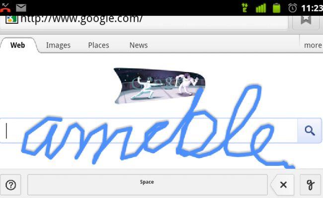 """""""Handwrite"""" funksion i ri i kërkimit nga Google"""