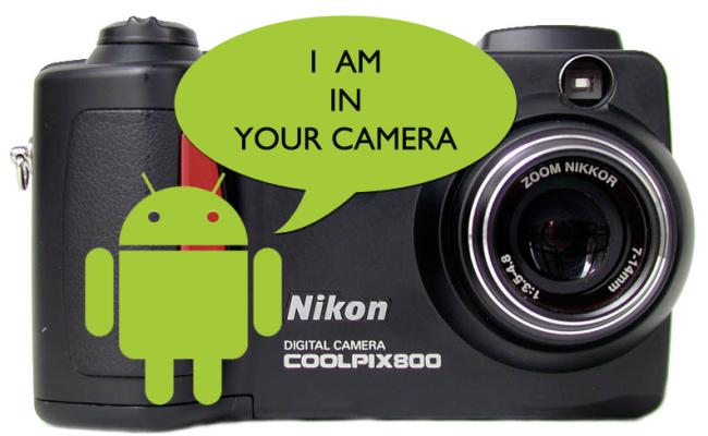 Nikon Android kamera së shpejti
