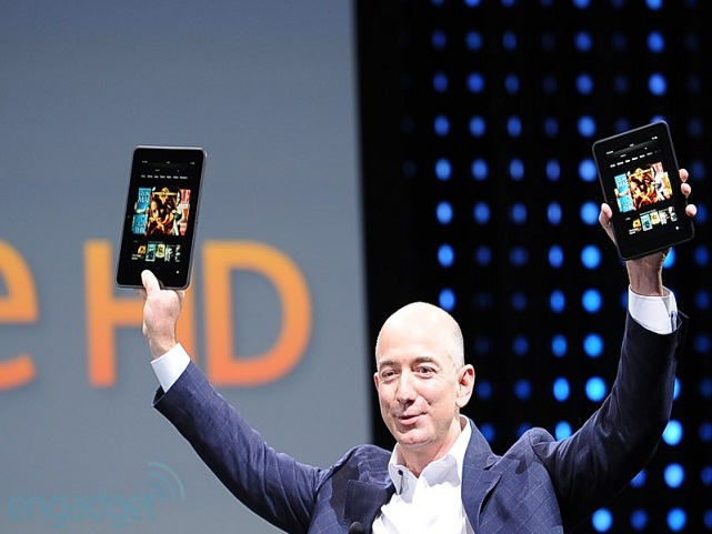 Shtohet Familja e Tabletëve Amazon Kindle