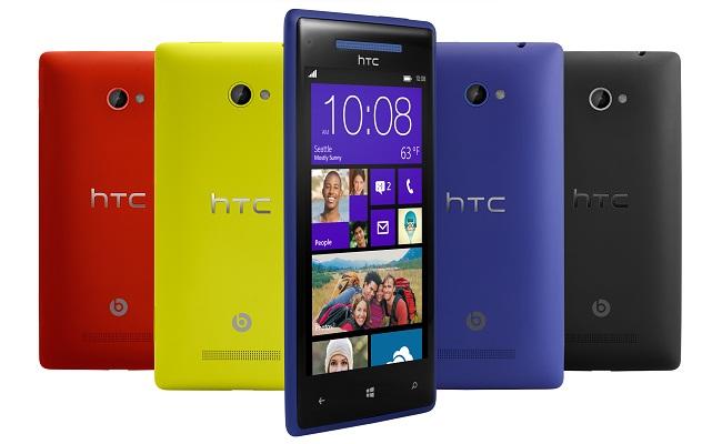 HTC Publikon: HTC Windows Phone 8X