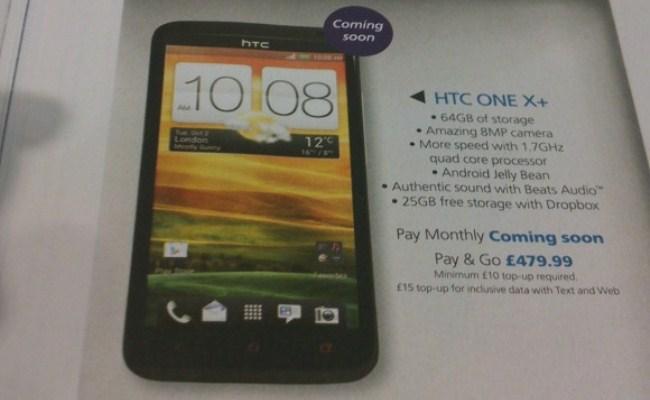 Shfaqet HTC One X +