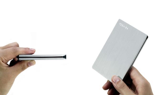Toshiba lancoi Canvio Slim Hard Disk të jashtëm 500 GB