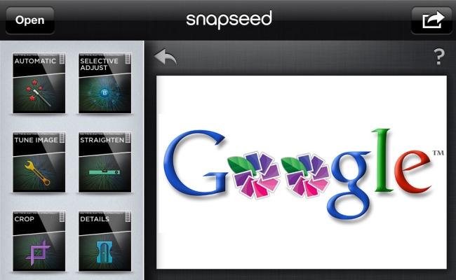 Google blen shërbimin për foto-editim Snapseed