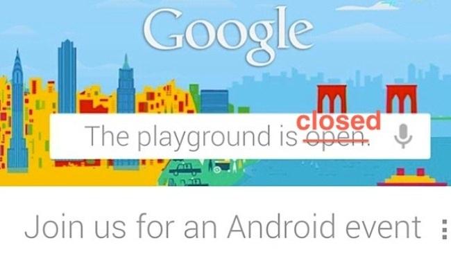 Google anulon ngjarjen e organizuar për nesër