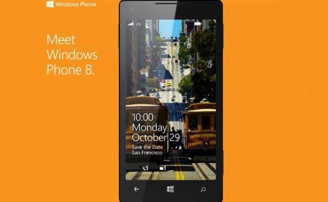 Windows Phone 8, me datën 29 Tetor