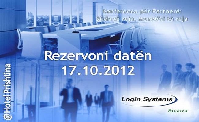 Login Systems: Konferenca për partnerë