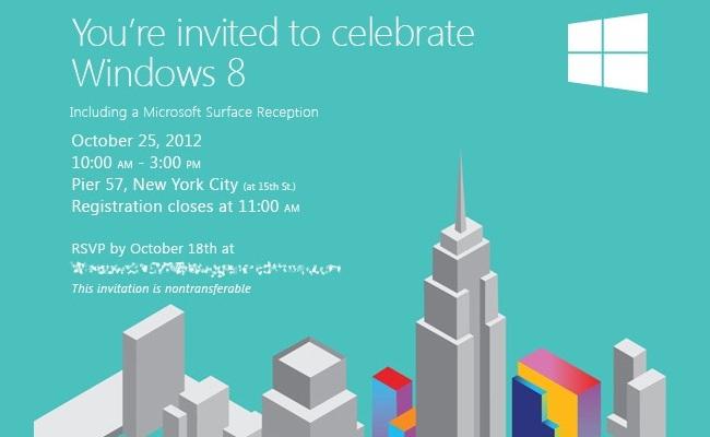 Microsoft u dërgon ftesë mediave për Windows 8