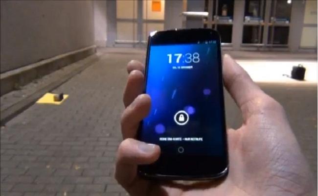 Google Nexus 4 – Testi i hedhjes