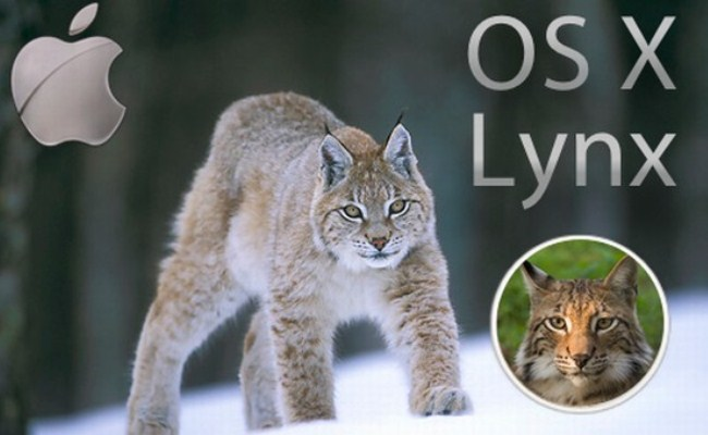Mac OS X 10.9 i ardhshëm, do të quhet Lynx