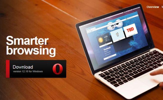 Shfletuesi Opera 12.10 për desktop
